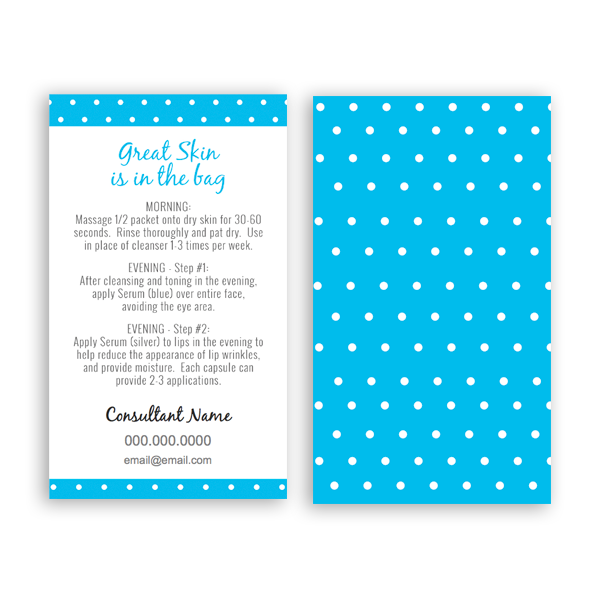 Business Card Template Archives ITW Visions - Rodan and fields business card template