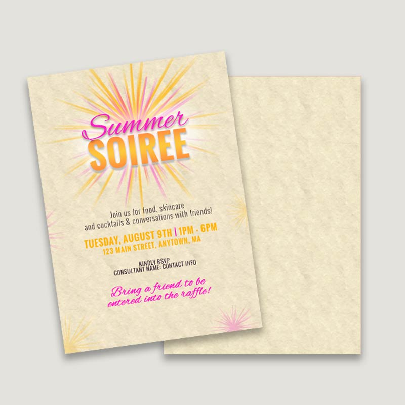 Summer Soiree Invitation Itw Visions