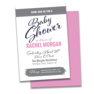 baby shower invitation, invitation, invite, invites, invitation design, custom baby shower invitations