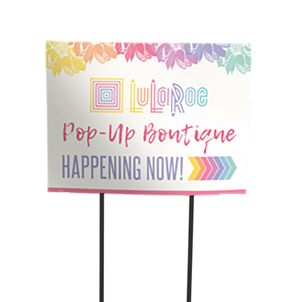 lularoe yard sign