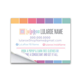 lularoe mailing label sticker for shipping