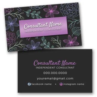 make your own business cards, already designed templates