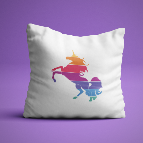 lularoe unicorn pillow, boutique decor, popup boutique decor