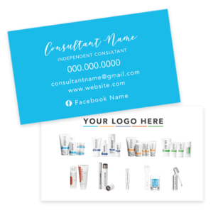 rodan and fields business card, rodan and fields product card