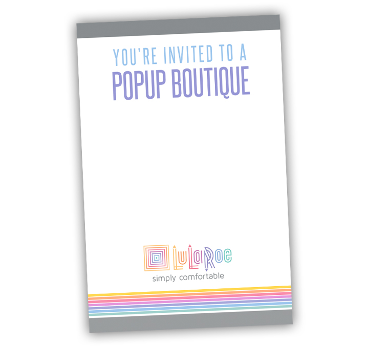 LuLaRoe Invitation Notecard FREE DOWNLOAD ITW Visions
