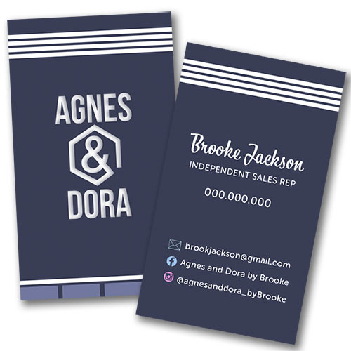 Agnes and dora business card navy blue and stripes itw visions agnes and dora business lularoe business colourmoves