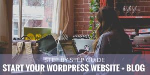 how to start a blog, how to start a website, how to easily start a website blog