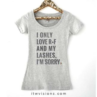rodan fields business, only love my bed and momma I'm sorry, rodan fields shirt, rf swag, fun shirt idea, graphic tee shirt