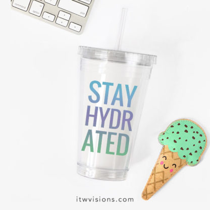 stay hydrated beverage tumbler, rodan and fields business, workout tumbler, tumbler with straw, team gift, gift idea